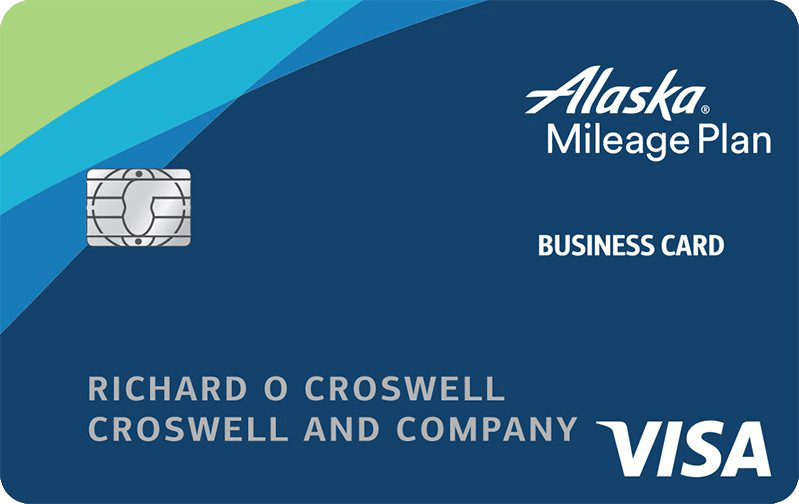 Alaska Airlines Visa Business Card