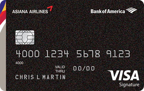 Asiana Visa Signature card