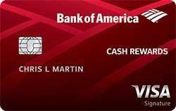 Bank of America Cash Rewards Credit Card