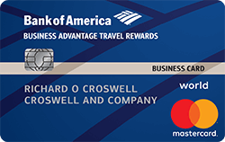 Business Advantage Travel Rewards World MasterCard