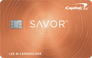 Capital One® Savor® Dining Rewards Credit Card