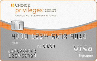 Choice Priviliges Visa Signature Card
