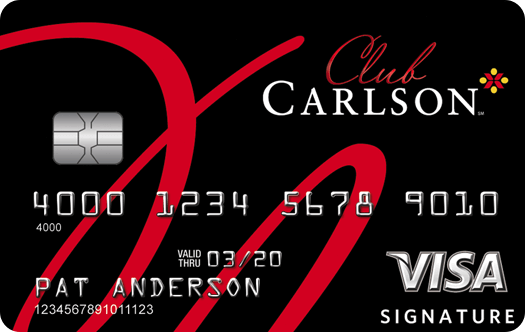 Club Carlson Rewards Visa Signature Card