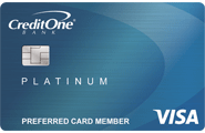 Credit One Bank® Unsecured Visa® for Rebuilding Credit
