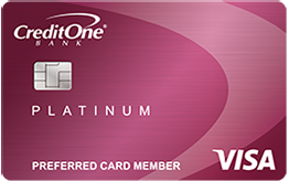 Credit One Bank® Visa® Credit Card with Cash Back Rewards