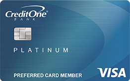 Credit One Bank® Visa® with Free Credit Score Tracking