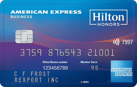 Hilton Honors™ American Express Business Card
