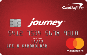 Journey® Student Credit Card from Capital One®