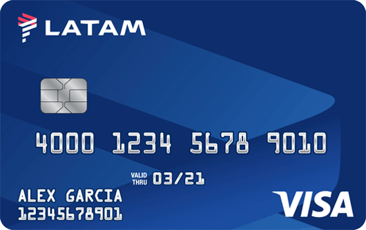 LATAM Secured Visa Card