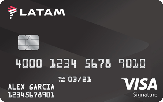 LATAM Visa Signature Card