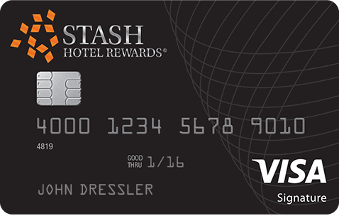 Stash Hotel Rewards Visa