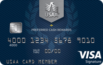 USAA Preferred Cash Rewards Visa Signature