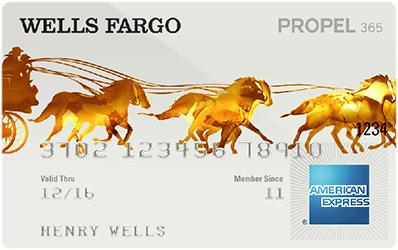 Wells Fargo Propel 365 American Express Card