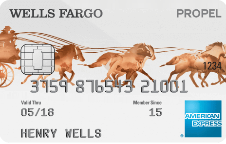 Wells Fargo Propel American Express Card